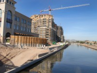 major office and condo development by river in scottsdale az